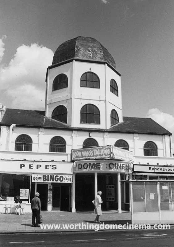 The Dome prior to restoration of the tower.